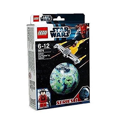 LEGO Star Wars 9674 - Naboo Starfighter und Naboo