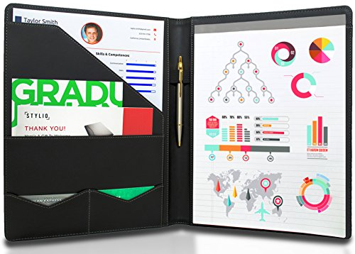 STYLIO Padfolio/Resume Portfolio Folder - Interview/Legal Document...