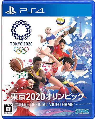Sega Olympic Games Tokyo 2020 For SONY PS4 PLAYSTATION 4 JAPANESE VERSION