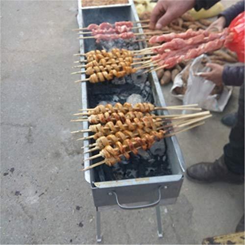 51908M+gn5L. SL500  - MUBAY Holzkohlegrill BBQ für Picknick im Freien Faltenbbq Grill Tragbare Edelstahl BBQ Grill Grill Zubehör für Home Park Gebrauch