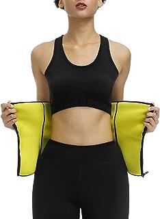 HEXIN Women's Waist Trainer Corset Body Cincher Steel Boned Belt Shapewear