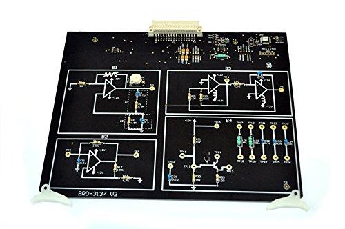 Placa de circuito de osciladores, filtros y amplificadores afinados para ser utilizada con EB-3000