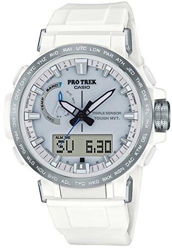 [カシオ] 腕時計 プロトレック クライマーライン 電波ソーラー PRW-60-7AJF メンズ ホワイト