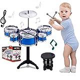 Kids Drum Set Toddler Instrument Set Educational Percussion...