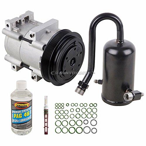 For Ford F Super Duty F-150 F-250 F-350 AC Compressor w/A/C Repair Kit - BuyAutoParts 60-80248RK New