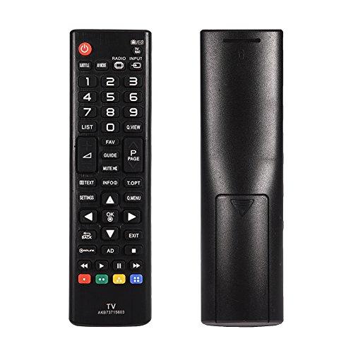 Tihebeyan vervangende afstandsbediening AKB73715603 voor LG TV-afstandsbediening, app voor LG 42PN450b / 47lN5400 / 50ln5400 / 50PN450b