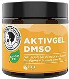 AKTIV NATURHEILMITTEL AktivGel DMSO Creme/Salbe 100ml mit 15% DMSO & Wärmeeffekt | 99,9% Reinheit, Hochwertig und 100% echt aus Deutschland