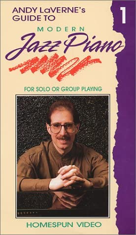 Top New Andy LaVerne's Guide to Modern Jazz Piano: For Solo or Group Playing, Video One [VHS]