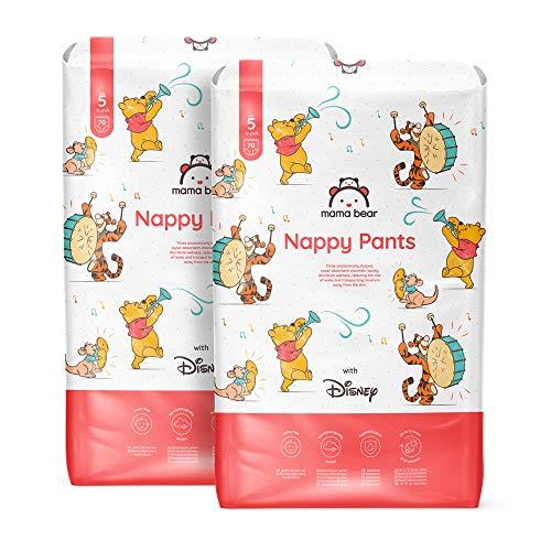 Mama Bear - Disney - 140 pañales braguita - Talla 5 (12-17 kg) - PACK MENSUAL