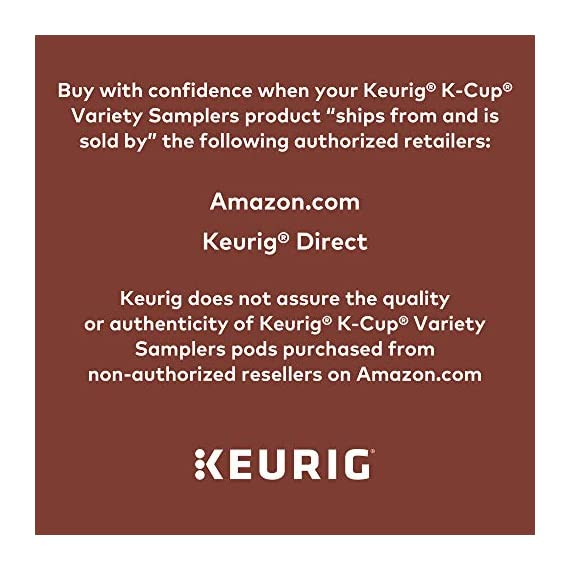 Keurig k-cup pod variety pack, single-serve coffee k-cup pods, amazon exclusive, 72 count 3 includes: 3 k-cup pods from 20 popular varieties, including green mountain coffee breakfast blend, the original donut shop regular, newman's own organic special blend, caribou coffee caribou blend, tully's coffee italian roast, and many more variety: sample different coffees and discover your favorites from a wide variety of roasts, flavors, and brands compatibility: contains authentic keurig k-cup pods, engineered for guaranteed quality and compatibility with all keurig k-cup coffee makers