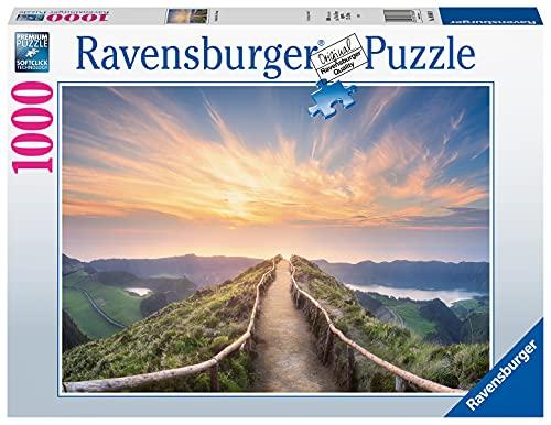 Ravensburger Puzzle, Puzzle 1000 Pezzi, Montagna in Portogallo, Puzzle Adulti, Puzzle Paesaggi, Puzzle Ravensburger - Stampa di Alta Qualità