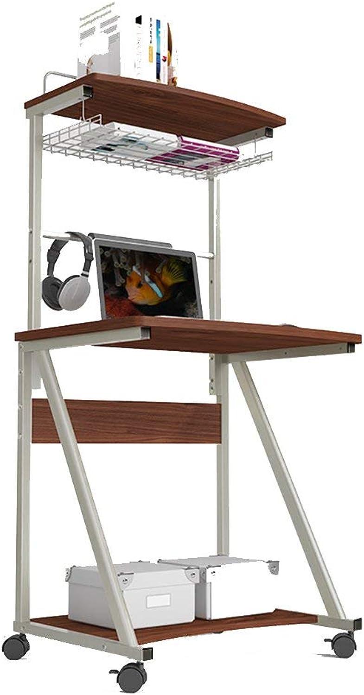seguro de calidad AFDK Escritorio de computadora de escritorio de pie, escritorio, escritorio escritorio escritorio para Niños, escritorio, estantería móvil de doble capa,A  precio mas barato