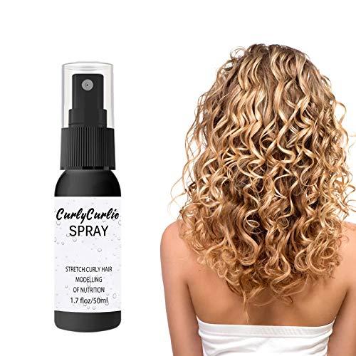 Aceite para cabello rizado, aceite capilar nutritivo, esencia hidratante, para cabello seco y dañado, 50 ml
