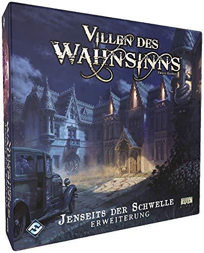 Fantasy Flight Games FFGD1025 Villen des Wahnsinns 2.Ed. -Jenseits der Schwelle Erweiterung DEUTSCH