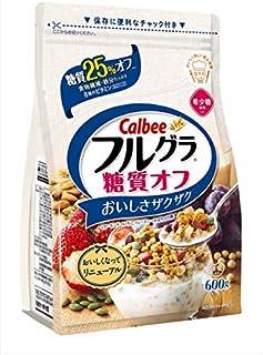 Calbee Full Gra 25% Low Carb Cerials, 600 g