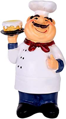 Master Chef Mario Carrying Welcome To My Kitchen Sign Figurine Kitchen Decor 14/""