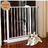J+N Sicherheitstür Leitplanke Schutzgitter Extra Wide-Baby-Kind-Sicherheits-Gate Bar Baby-Treppe Zaun Zimmer Küche Haustier Zaun Isolation Tür Baby-Sicherheitstür