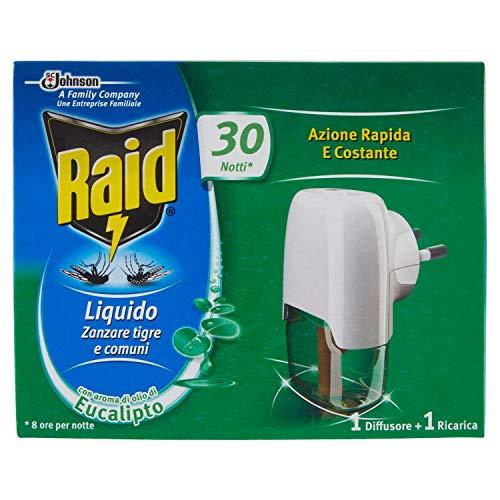 Raid Liquid Bodem Eucalyptus 30 niet