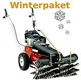 Tielbürger?Barredora TK36Invierno del paquete incluye cepillo de nieve Pala de nieve invierno Neumáticos