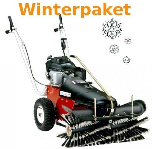 Tielbürger Kehrmaschine tk36 Winterpaket inkl. Schneebürste Schneeschild Winterreifen