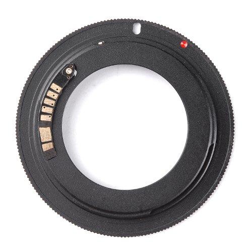 tinxi Adattatore per lenti M42 Canon EOS con autofocus AF Chip di conferma per Canon EOS 1D 1Ds ecc