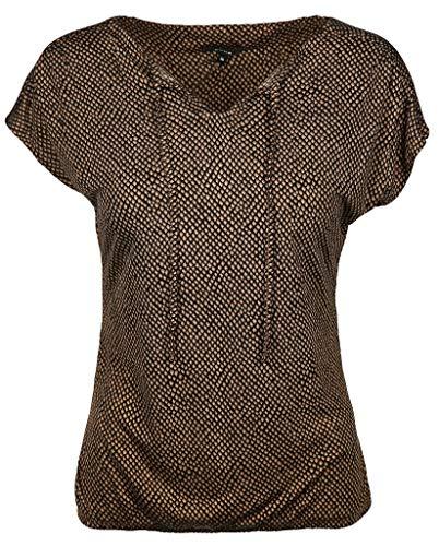 OPUS Damen Susy T-Shirt, Black, 42