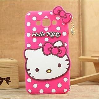 4 Season Cute Girl's Case Hello Kitty Soft Back Cover for Samsung Galaxy Grand 2