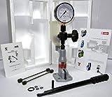 Testeur d'injecteur de buse pop Diesel - avec barre de 0-400/0-6000PSI - Échelle de jauge double
