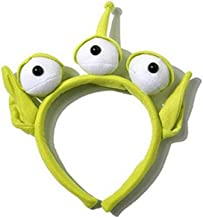 Ruotong 1 pcs Novelty New Toy Story Alien EARS COSTUME Plush HEADBAND ADULT OR CHILD Party Cosplay Gift