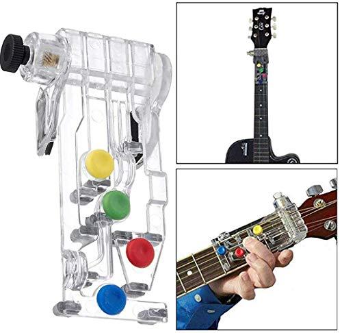 Classical Chord Buddy Guitar Lernsystem Lehrmittel Zubehör für Gitarrenanfänger Drücken Sie einfach die Tasten und spielen Sie Gitarre