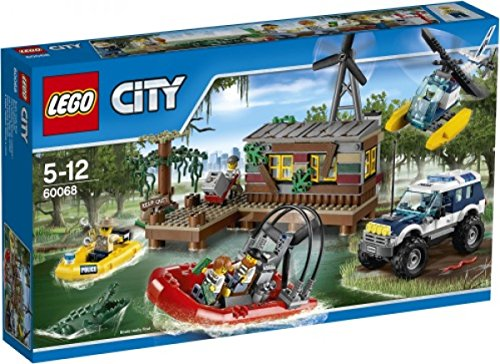 Lego City swamp hideout 60068