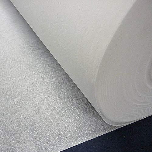 Nortex Mill White Mediumweight Fusible Iron On Interfacing Fabric (Per...