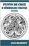 PUNTO DE CRUZ 8 SÍMBOLOS CELTAS DE 50 CM.: 8 diseños celtas de 50 cm para bordar en punto de cruz.