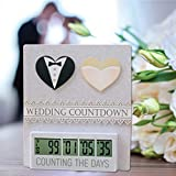 Retirement, Wedding or Baby Countdown Clock   up to 999 Day Countdown Timer