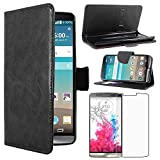 ebestStar - compatible with LG G3 Case D855 Wallet Case PU