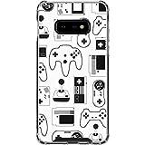 Skinit Clear Phone Case for Galaxy S10e - Originally Designed Retro Gaming Controllers Design