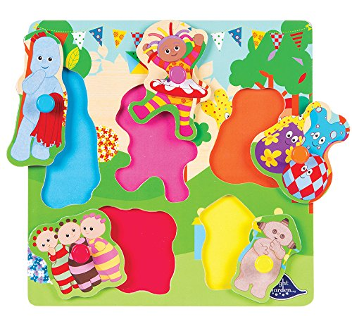 IN THE NIGHT GARDEN 1552 Cbeebies Chunky Puzzle for Kids, 5 Piece, Toddler Learning Resources