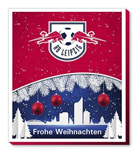 Adventskalender, Weihnachtskalender deines Bundesliga Lieblingsvereins - und Sticker Wir Leben Fußball Fairtrade (RB Leipzig)