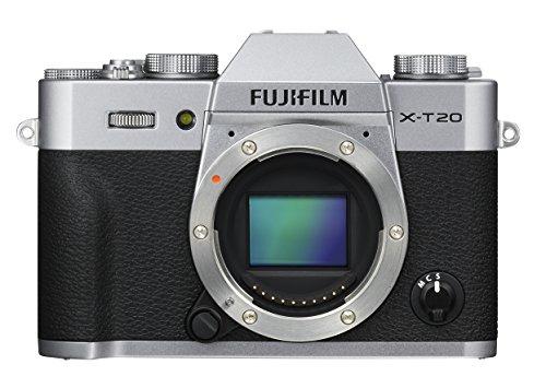 Fujifilm X-T20 Mirrorless Digital Camera, Silver