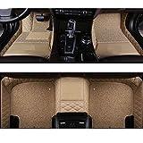 QWERQF Alfombrillas de Coche Personalizadas alfombras de Accesorios alfombras,para Honda Accord 2003 2007 CRV 2008 Stream Civic 2008 Ciudad 2010 Ajuste 2014 Jazz Gris