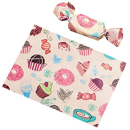 Blancho Bedding Geschenktüten für Süßigkeiten, Karamell, 9 x 12,5 cm, 500 Stück