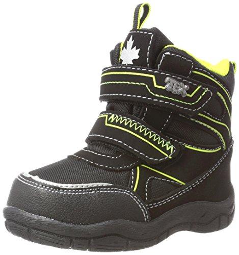 Canadians Baby-Jungen 367 107 Sneaker, Schwarz (Black), 25 EU