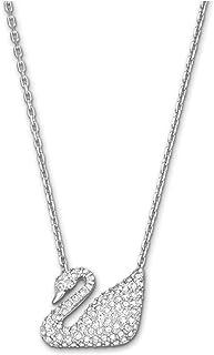 Swarovski Crystal Swan Necklace