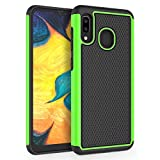 SYONER [Shockproof Protective Phone Case Cover for Samsung Galaxy A20 / Galaxy A30 (6.4', 2019) [Green]
