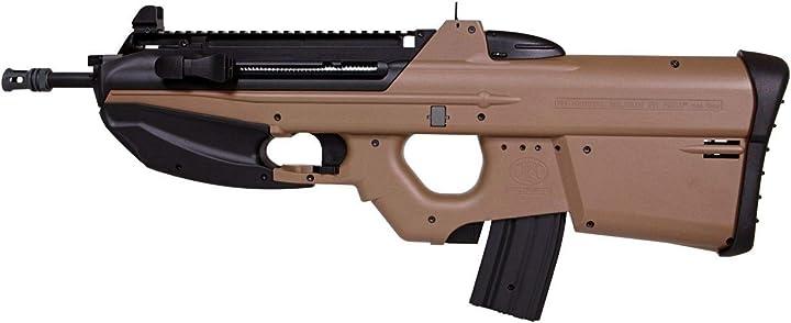 Fucile softair elettrico -cal 6mm- 1 joule- colore deserto fn herstal f2000 B07H457FDZ