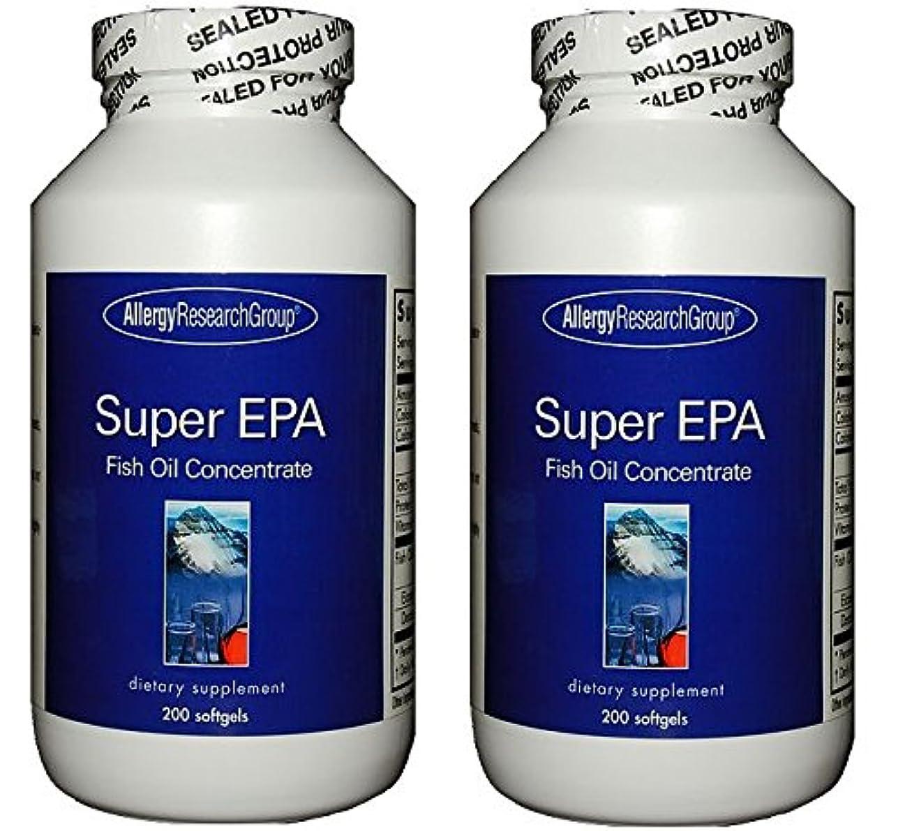 興奮吐き出す暖かさスーパーEPA & DHA  200ソフトカプセル (Super EPA Fish Oil Concentrate 200 softgels) [海外直送品] 2ボトル
