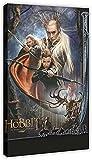 Póster de lienzo 40x60cm Sin marco El señor de los anillos, el Hobbit, póster de película, impresiones, arte de pared, lienzo moderno, cuadros decorativos para el hogar