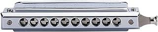 Swan Silvery 10 hole 40 tone chromatic harmonica