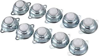 70mm JINLI-CASE Wheels 4Pieces//Lot 25.4mm Nylon Beads Universal Ball Wheels Robot Cow Eyeballs Ball Caster Wheel Total Long