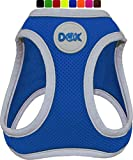 DDOXX Arnés Perro Step-In Air Mesh, Ajustable, Reflectante, Acolchado | Muchos Colores & Tamaños | para Perros Pequeño, Mediano y Grande | Accesorios Gato Cachorro | Azul, XL